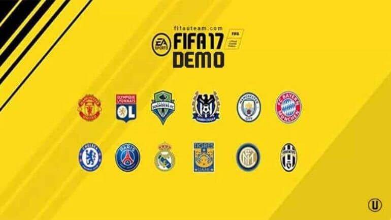 12 takımla FIFA 17 demosu geldi!