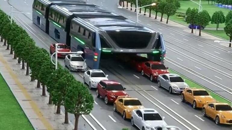 1200 kişilik otobüs projesi görücüye çıktı