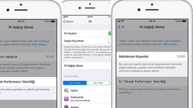 iPhone 7 pil kullanım süresi neden az?