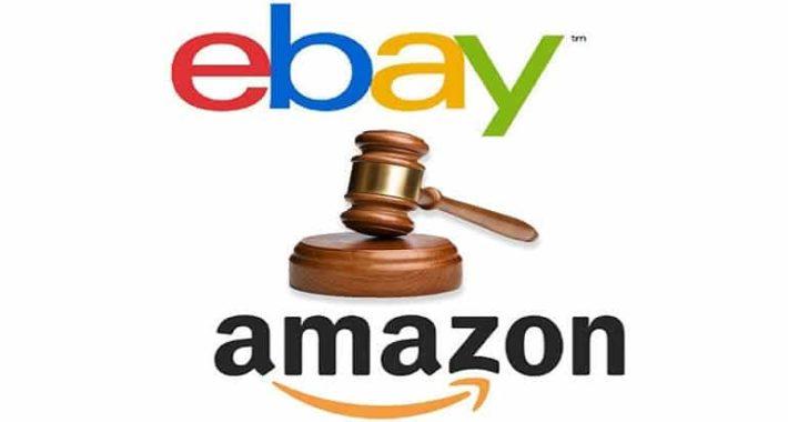 eBay ve Amazon mahkemelik oldular