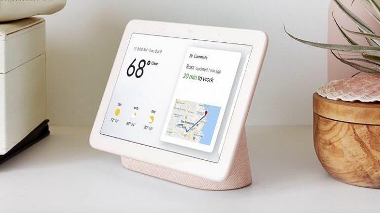 Google yeni akıllı ekran (Home Hub)
