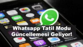 WhatsApp tatil modu, sessiz mod ve bağlantılı hesap desteği geliyor