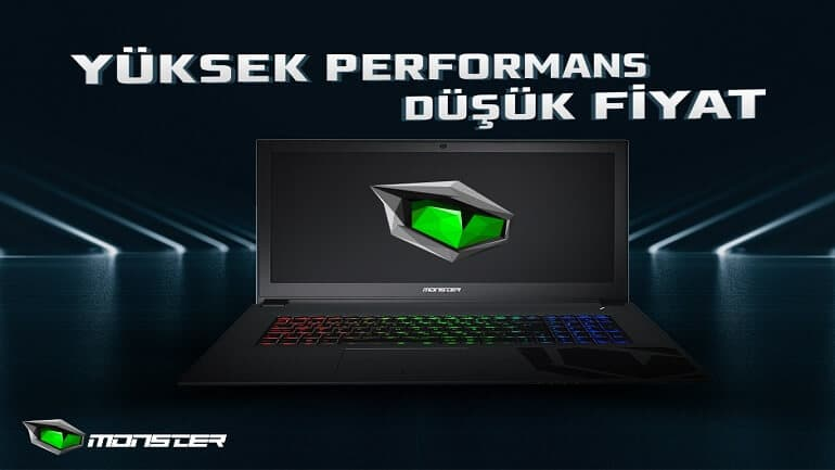 monster gaming notebook