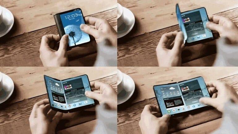 Samsung katlanabilir telefon modelini nihayet tanıttı
