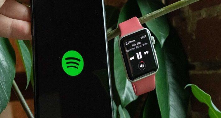 Spotify Apple Watch uygulaması kullanıma sunuldu