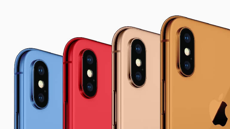 2018'de çıkacak 3 iPhone modelinin renkleri sızdı