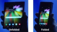 Samsung katlanabilir telefon (Galaxy F) hakkında yeni bilgiler