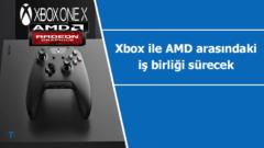 Xbox markası ile AMD arasındaki iş birliği sürecek