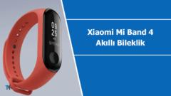 Xiaomi Mi Band 4 akıllı bileklik hakkında yeni bilgiler paylaşıldı