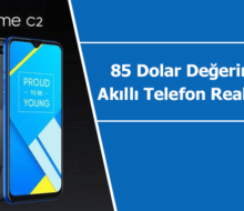 85 Dolar değerindeki en ucuz akıllı telefon Realme C2 ile tanışın