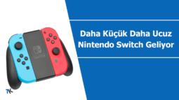 """Daha küçük ve daha ucuz yeni """"Nintendo Switch"""" geliyor"""