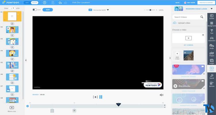 PowToon Video Düzenleme Programı