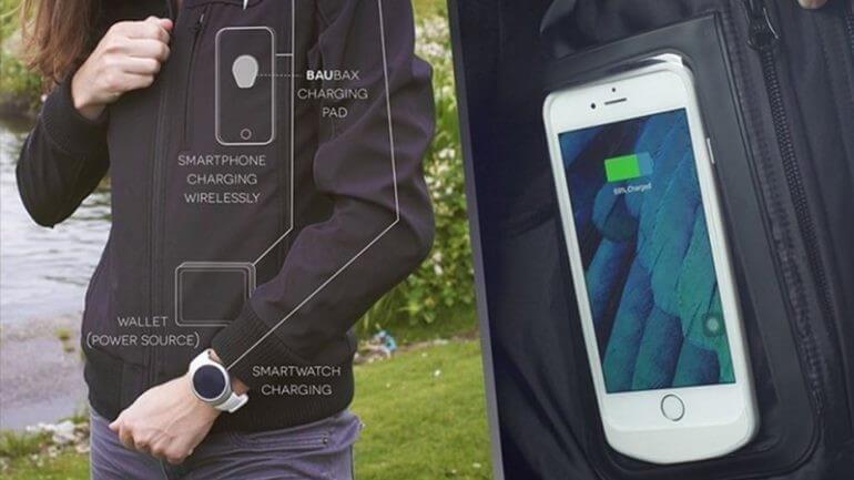 Akıllı ceketler sayesinde şarj sorunu kalmayacak