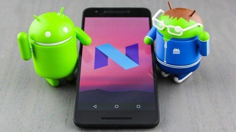 Android Nougat 7.0 tanıtıldı