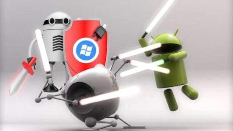 Android telefonlar satış sıralamasında ilk sırayı aldı