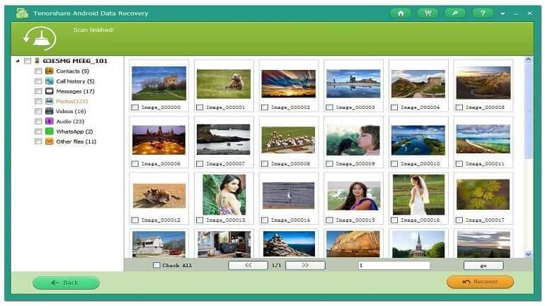 Android Veri Kurtarma Programı İle Silinen Fotoğrafları Kurtarma