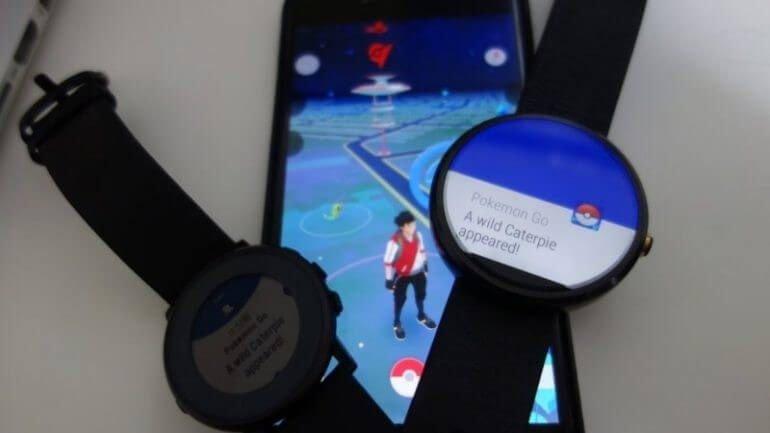 Android Wear için Pokemon Go geliyor mu?