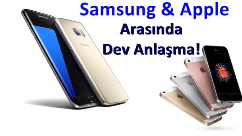 Apple ve Samsung arasında dev kardeşlik adımları