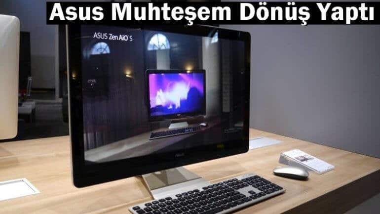 Asus'dan hepsi bir arada donanımlı bilgisayar
