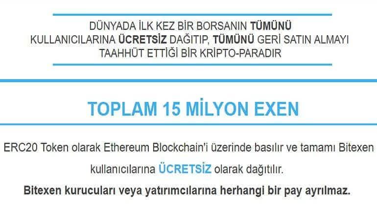 Bedava kripto para – EXEN Coin