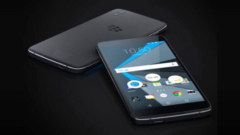 Blackberry'nin yeni modeli görüldü!