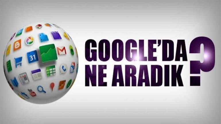 Bu hafta Google'da neler aradık?