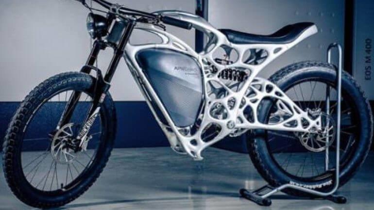 Bu motosikleti 3D yazıcı üretti!