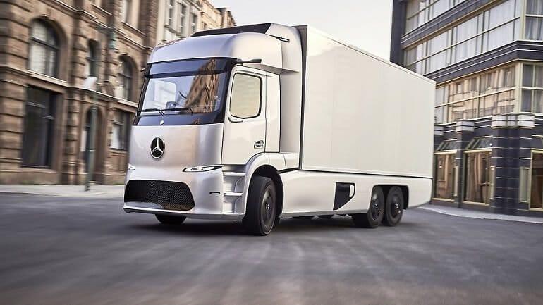 Elektrikli Mercedes Urban eTrack testlere başladı