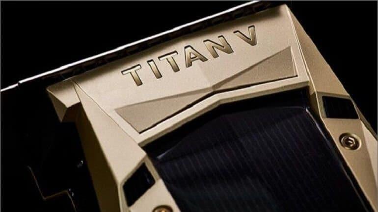 En güçlü ekran kartı Nvidia Titan V