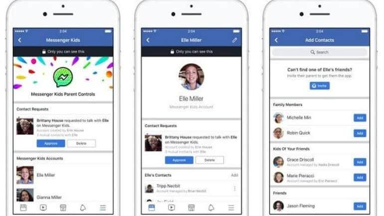 Facebook çocuklar için mesajlaşma uygulaması (Messenger Kids)