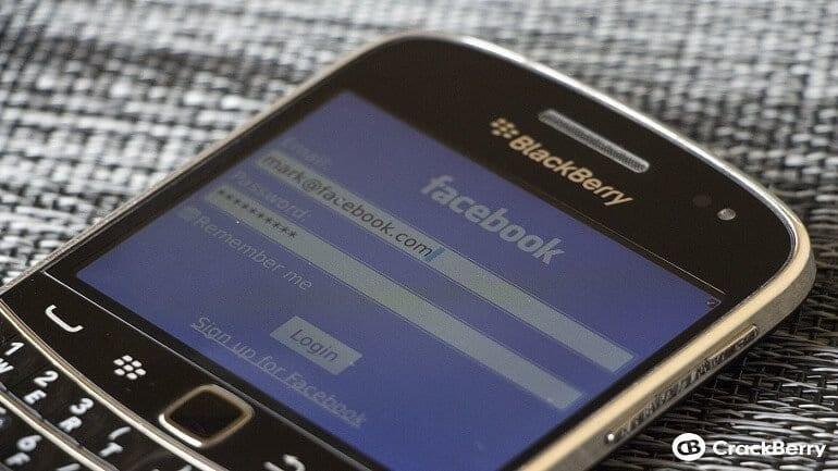 Facebook'tan Blackberry resti