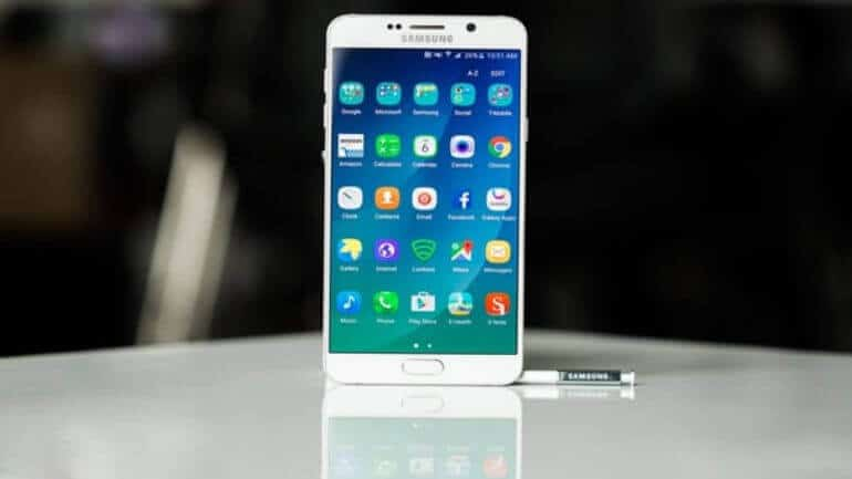 Galaxy Note 5 güncellemesi geldi