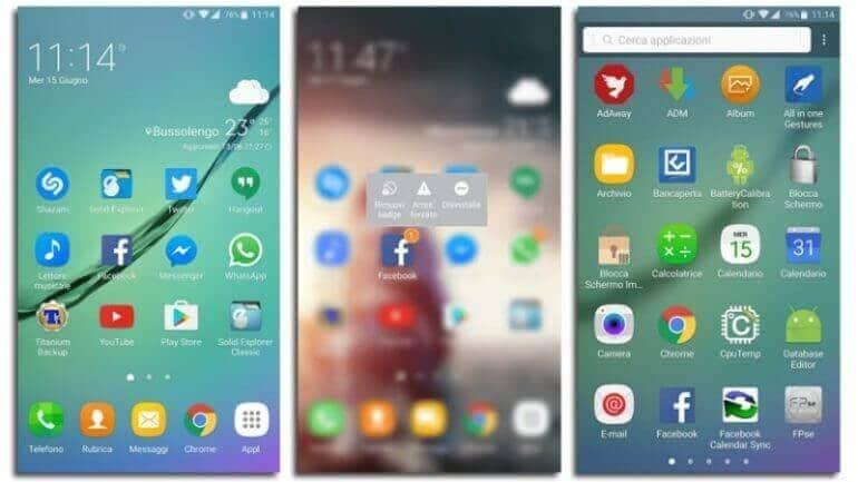 Galaxy Note 7 Ara Yüzü Galaxy S7'de Kullanılacak