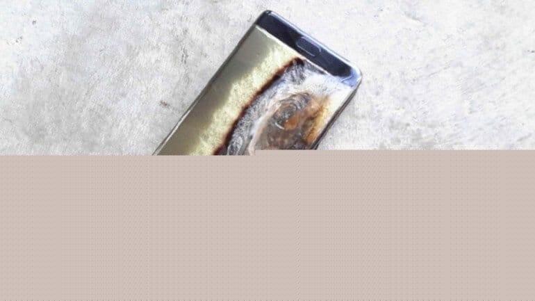 Galaxy Note 7 bu sefer 6 yaşındaki bir çocuğun elinde patladı