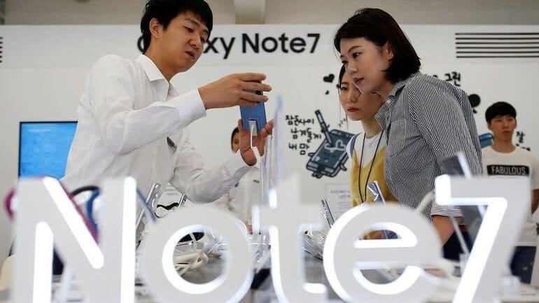 Galaxy Note 7 hakkında Samsung Türkiye açıklaması