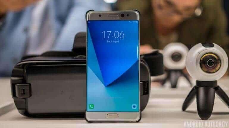Galaxy Note 7 Yeniden Avrupa Sahnesine Çıkıyor