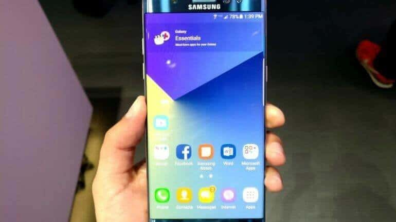 Galaxy Note 7'de acele mi edildi?