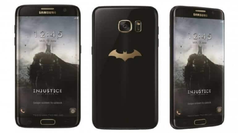 Galaxy S7 Edge Batman tanıtıma sunuldu