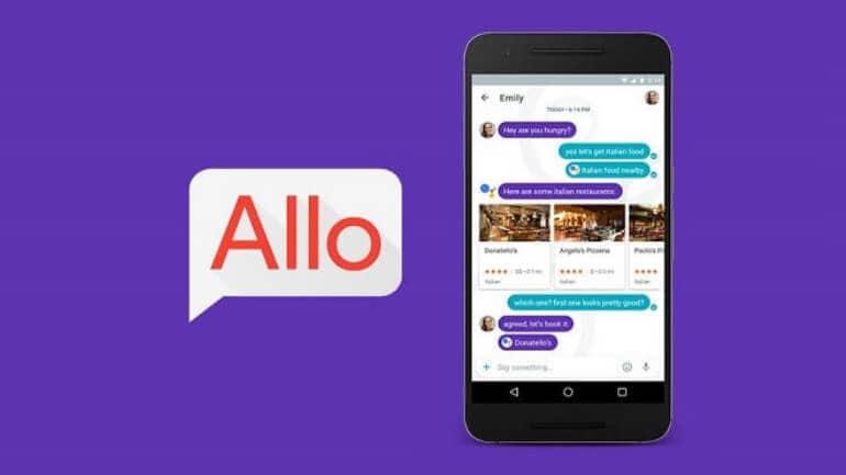Google Allo kullanıcılarına müjde