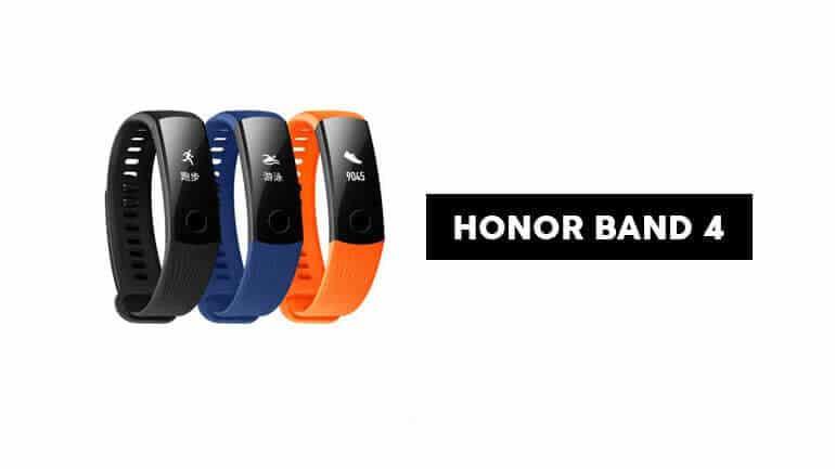 Honor Band 4 renkli ekran ve uygun fiyatla tanıtıldı!