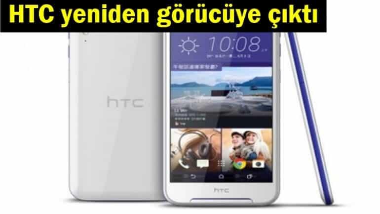 HTC yeni telefonuyla görücüye çıktı!