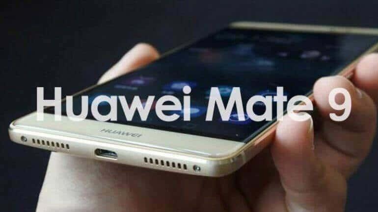 Huawei Mate 9 gümbür gümbür geliyor!