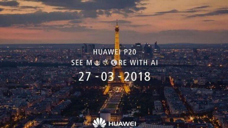 Huawei P20 ismi doğrulandı