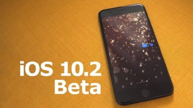 iOS 10.2 Beta 6 sürümü çıktı!