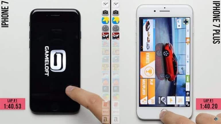 iPhone 7 ve iPhone 7 Plus hız karşılaştırmasında