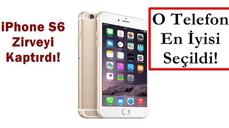 iPhone telefonlarını geride bıraktı! En iyi telefon seçildi!