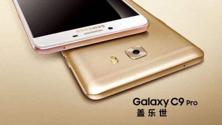 İşte Galaxy C9 Pro teknik özellikleri!