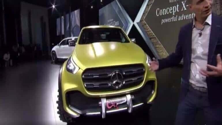 Karşınızda Mercedes-Benz X-CLASS Pikap görücüye çıktı