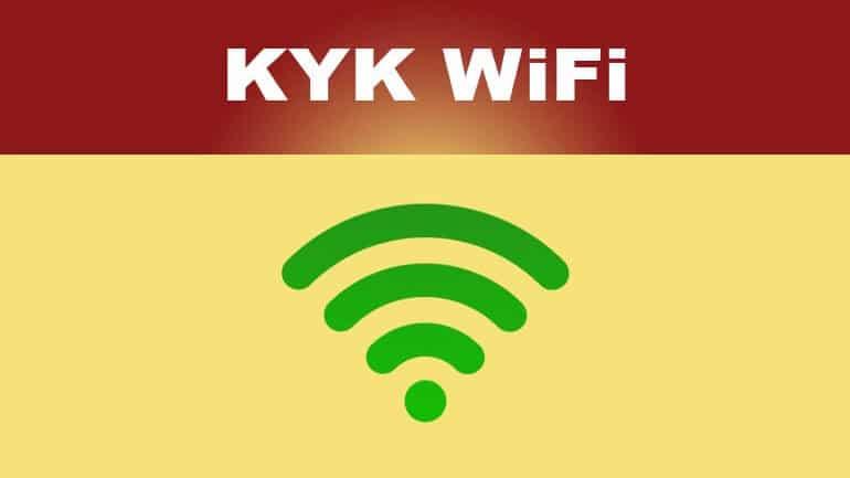 KYK wifi giriş ve çıkış nasıl yapılır?