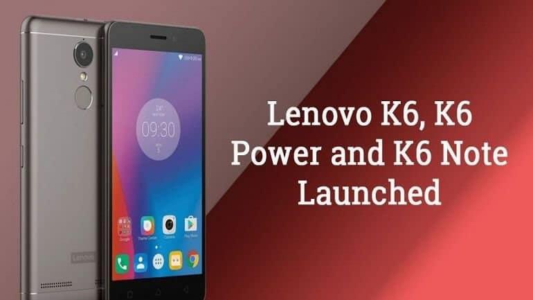 Lenovo K6 serisine 3 yeni akıllı telefon daha!